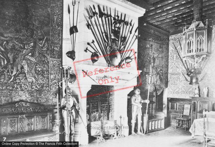 Photo of Chaumont Sur Loire, Chateau De Chaumont, Interior c.1935