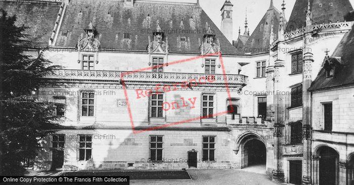 Photo of Chaumont Sur Loire, Chateau De Chaumont, Left Wing c.1935