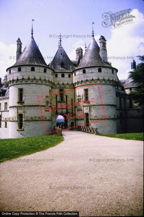 Photo of Chaumont Sur Loire, Chateau De Chaumont, Main Entrance 1984