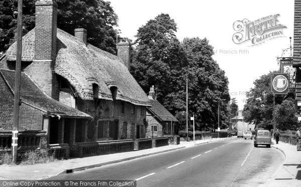 Chawton, the Village c1960