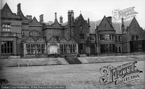 Photo of Cheadle, Abney Hall c.1960 - Francis Frith