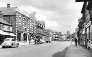 Cheadle, High Street c1955