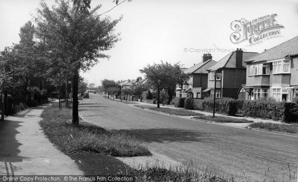 Cheadle Hulme, Highfield Road C.1960