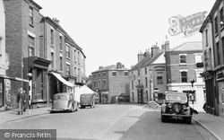 Cheadle, The Cross, High Street c.1955