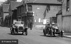 Cars Outside The Plough Inn 1927, Cheam