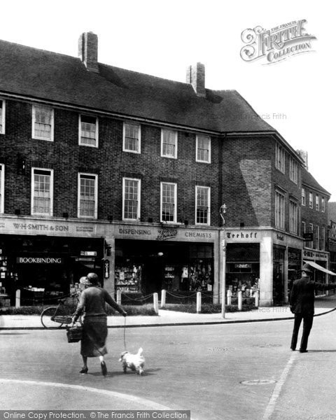 Photo of Cheam, Ewell Road 1932