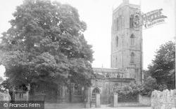 Cheddar, Church 1887