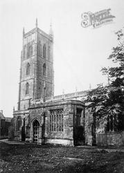Cheddar, Church 1890