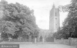 Cheddar, Church 1908