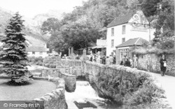 Cheddar, Cliff Road c.1950