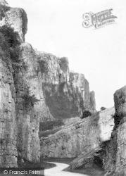 Cheddar, Cliffs 1908