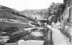 Cheddar, Cliffs And Glen Lake 1908