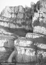 Cheddar, Cliffs, The Pinnacles 1890