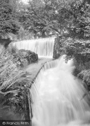 Cheddar, Double Waterfall 1925