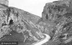 Cheddar, Entrance To Gorge 1890