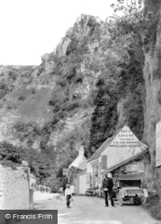 Cheddar, Entrance To Pass 1908