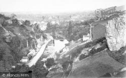 Cheddar, General View c.1880