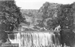 Cheddar, Glen Waterfall 1908