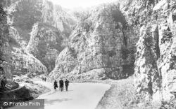 Cheddar, Gorge c.1930