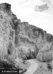 Cheddar, Gorge c.1960