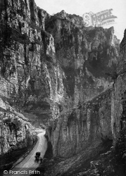 Cheddar, Gorge, High Rock c.1873