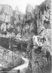 Cheddar, Gorge, Pinnacles 1887