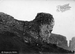 Cheddar, Lion Rock 1886