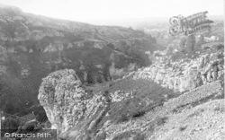Cheddar, Lion Rock 1890