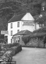 Cheddar, Pavey's Restaurant c.1950