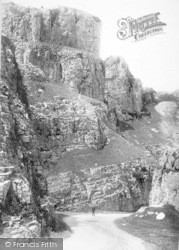 Cheddar, Pepys Rock 1887