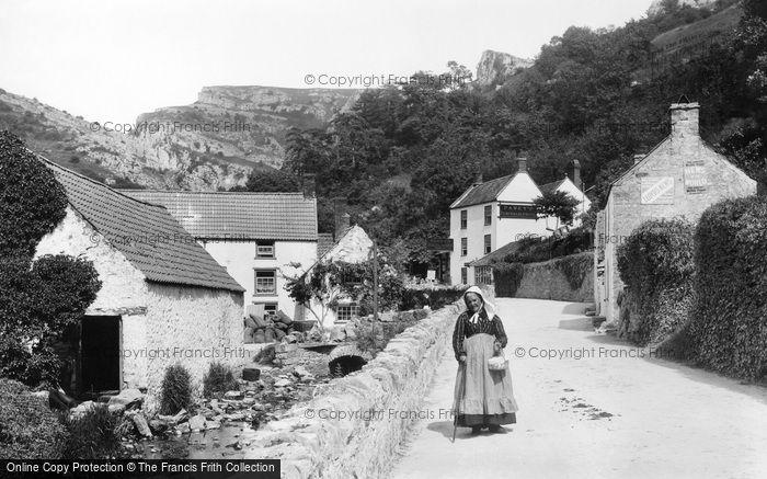 Cheddar,Glen Middle Mill 1908,Somerset