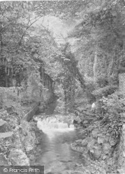 Cheddar, Source Of The Water Supply 1925