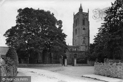 Cheddar, St Andrew's Church 1913