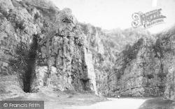 Cheddar, Sugar Loaf Rock 1887