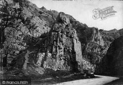 Cheddar, Sugarloaf Rock c.1873