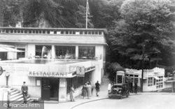 Cheddar, The Caveman Restaurant c.1939