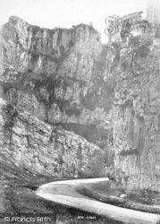 Cheddar, The Gorge 1890