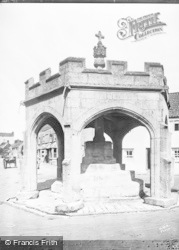 Cheddar, The Market Cross c.1930