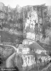 Cheddar, The Pinnacles 1890