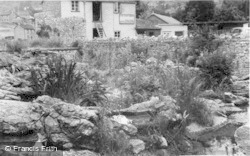 Cheddar, The Rock Garden c.1939