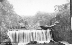 Cheddar, The Waterfall 1890