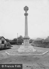 Cheddar, War Memorial 1925