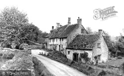 Chedworth, Church Row c.1960