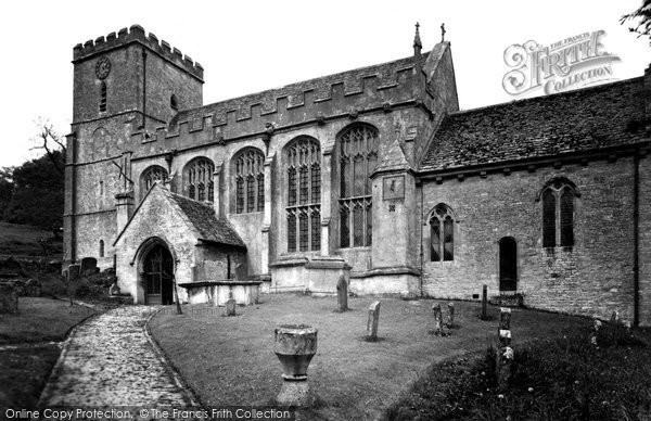 Photo of Chedworth, St Andrew's Church c.1955