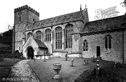 St Andrew's Church c.1955, Chedworth