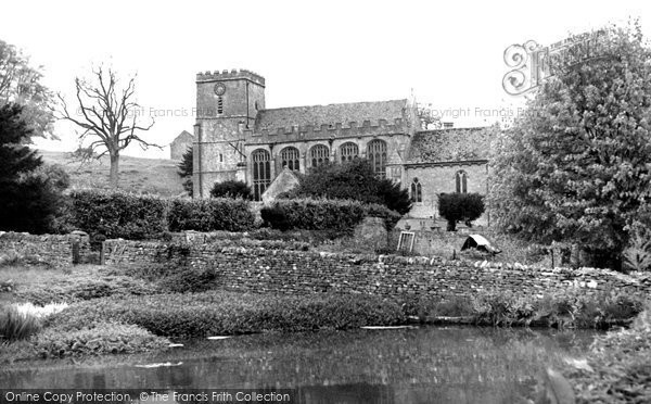 Photo of Chedworth, St Andrew's Church c.1960