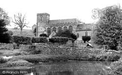 St Andrew's Church c.1960, Chedworth