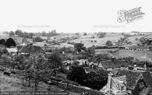 Photo of Chedworth, Upper Chedworth c.1955