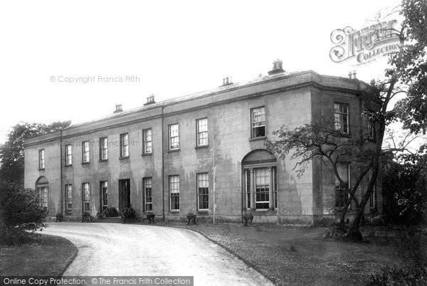 Photo of Chelford, Astle Hall 1896