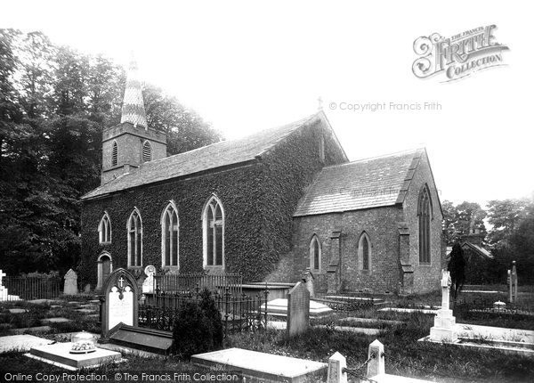 Photo of Chelford, Church Of St John The Evangelist 1896